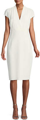 Elie Tahari Gerarda Stretch-Crepe Sheath Dress