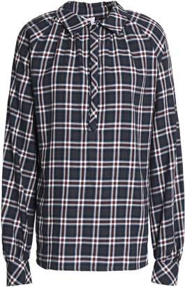 Stella Jean Checked Cotton-flannel Shirt