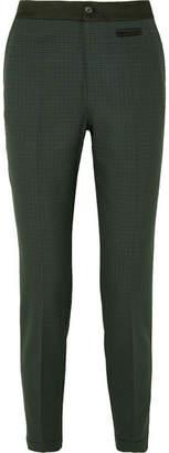 Jason Wu GREY - Milano Checked Twill Skinny Pants - Green