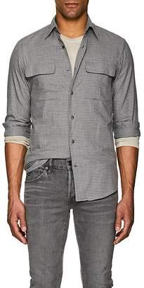Ralph Lauren Purple Label Men's Checked Cotton Shirt