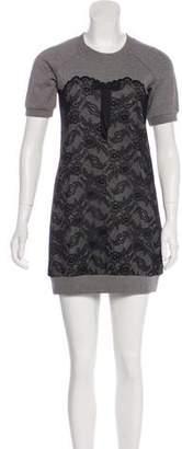 Dolce & Gabbana Short-Sleeve Mini Dress