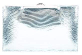 Christian Dior Metallic Karung Clutch