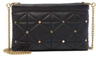 Anne Klein Facile Quilted Leather Crossbody Bag