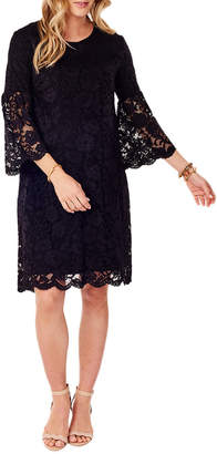 Ingrid & Isabel Lace Swing Dress