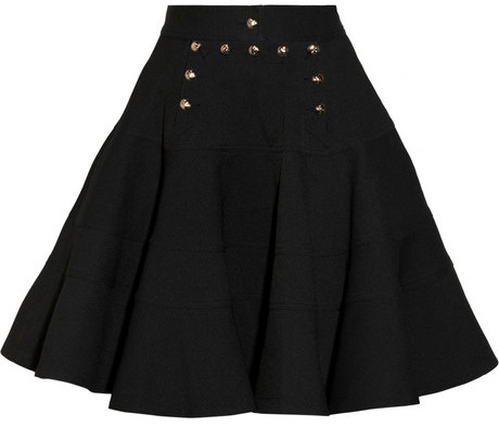 McQ by Alexander McQueen Marine Freedom twill skirt
