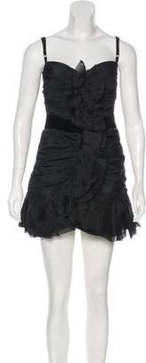 Dolce & Gabbana Ruched Mini Dress