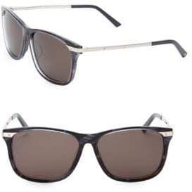 Cartier 59MM Square Sunglasses