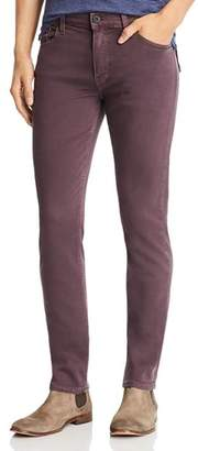 Paige Lennox Slim Fit Jeans in Vintage Plum Wine