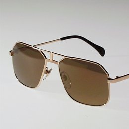 Selima Optique Gold Zeke Aviator Sunglasses