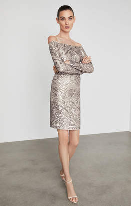 BCBGMAXAZRIA Eunice Sequined Dress