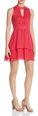 Parker Cassie Silk Keyhole Dress