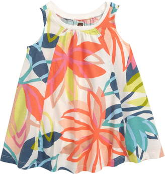 Tea Collection Print Knit Trapeze Dress