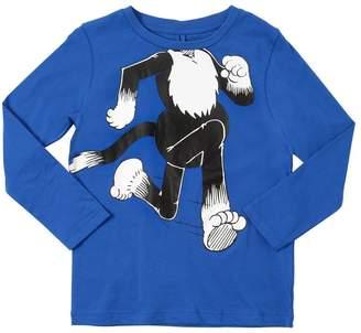 Stella McCartney Cat Printed Cotton Jersey T-Shirt