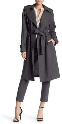 Theory Laurelwood Lightweight Trench Coat $655 thestylecure.com