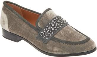Franco Sarto Studded Detail Velvet Loafer - Johanna