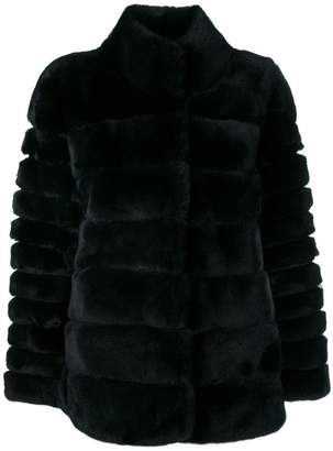 N.Peal ribbed short jacket