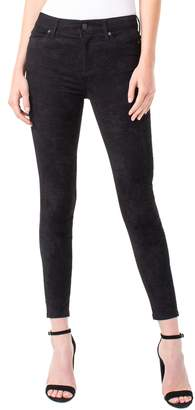 Liverpool Abby Faux Suede Ankle Pants