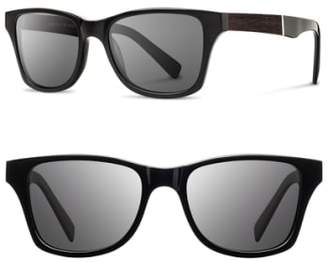 Shwood 'Canby' 53mm Wood Sunglasses