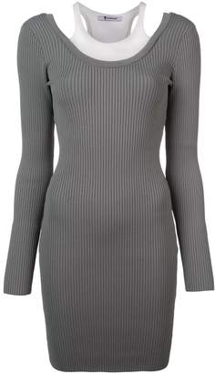 Alexander Wang ribbed knit fitted dress