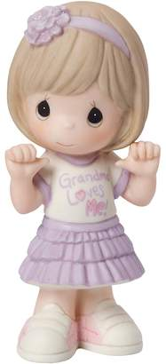 "Precious Moments Grandma Loves Me"" Girl Figurine"