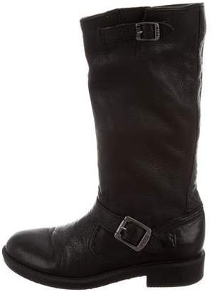 Frye Girls' Veronica Slouch Leather Boots