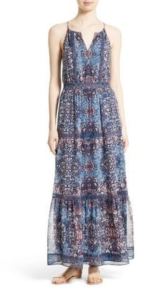 Women's Joie Agnece Silk Maxi Dress $448 thestylecure.com