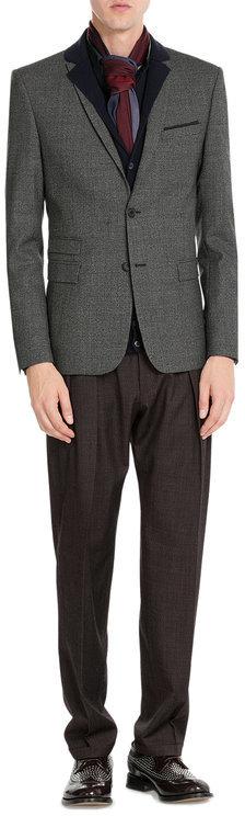 BrioniBrioni Cashmere-Silk-Wool Cardigan
