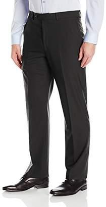 Hart Schaffner Marx Men's Chicago Fit Flat Front Dress Pant