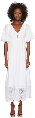 McQ Broderie Anglaise Long Dress Women's Dress