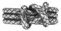 Bottega Veneta Silver Knot Ring