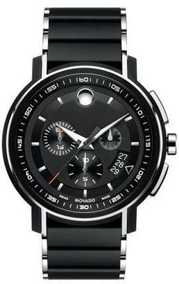 Movado 44mm Strato Chronograph Watch $1,995 thestylecure.com