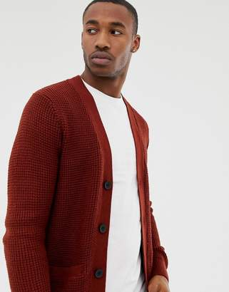 New Look cardigan in rust
