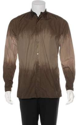 Bottega Veneta Dip-Dye Woven Shirt w/ Tags