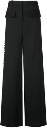 Vera Wang wide leg trousers