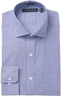 Tommy Hilfiger Stripe Regular Fit Dress Shirt