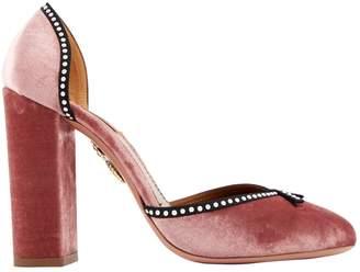 Aquazzura Velvet heels