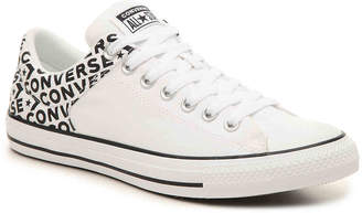 1901dff9ebac6d Converse Chuck Taylor All Star Hi Street Ox Word Sneaker -White Black -  Women s