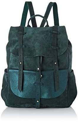 Mila Louise Women's 3014VCG Backpack Handbag Green