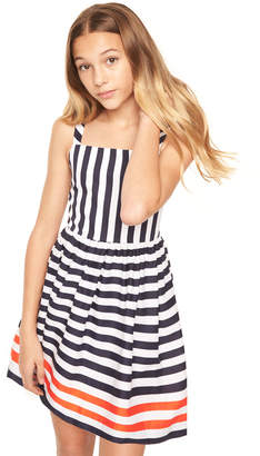 Milly MINIS NAUTICAL STRIPES EMALINE DRESS