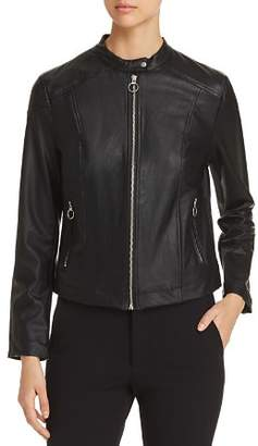 Lysse Luna Faux Leather Moto Jacket