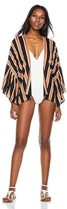 Beautiful Nomad Women's Swimsuit Cover up Cardigan with Print