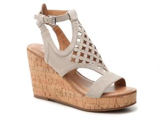 Franco Sarto Cameron Wedge Sandal $89 thestylecure.com