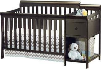 Sorelle Florence 4-in-1 Convertible Crib and Changer Combo