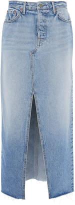 GRLFRND Denim Isla Denim Midi Skirt