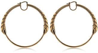 Roberto Cavalli Snake Earrings
