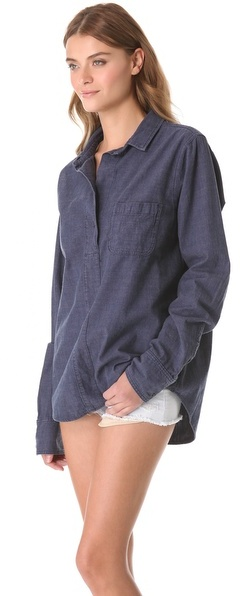 Rag and Bone Leeds Oversized Shirt