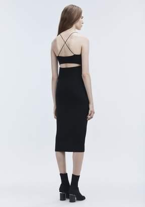 Alexander Wang (アレキサンダー ワン) - T By Alexander Wang Cut Out Modal Cami Dress