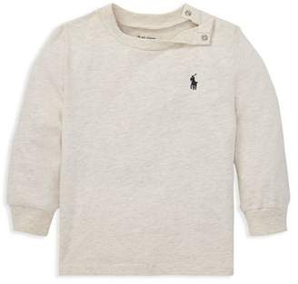 Ralph Lauren Boys' Long Sleeve Tee - Baby
