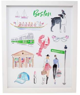 Boston Warehouse Fashionable Cities: Boston Framed Art