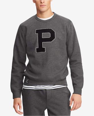 Polo Ralph Lauren Men Chenille P Logo Double-Knit Sweatshirt